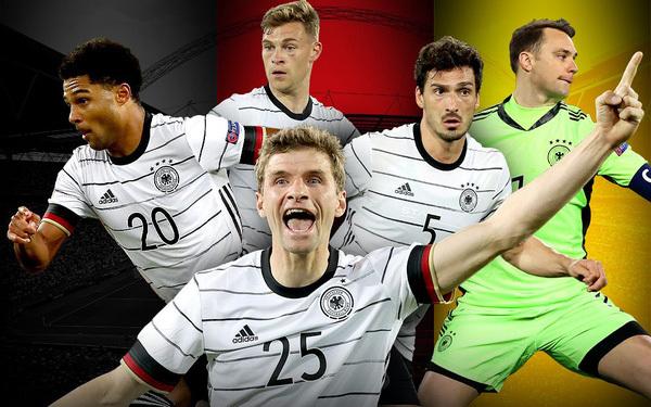 biệt danh đội tuyển Đức