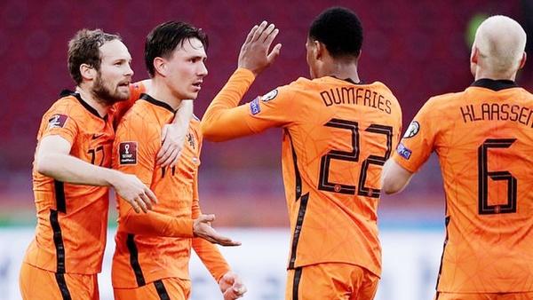 biệt danh đội bóng Hà Lan